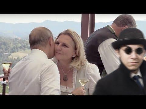 Австрийская невеста обиделась на Путина
