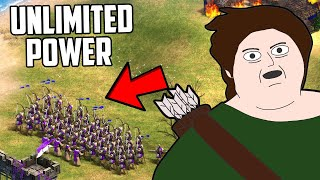 Can You Beat Age of Empires 2 With Just Longbowmen?