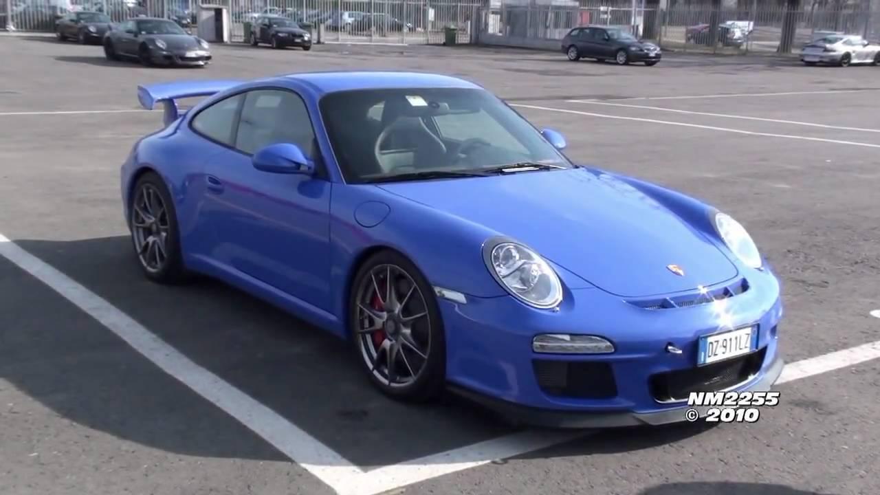 R3 2 Sign >> Mexico Blue Porsche 997 GT3 MK2 - YouTube