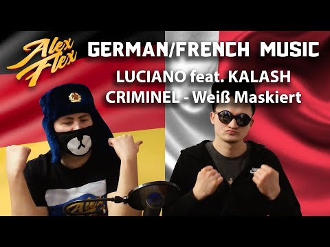 LUCIANO Feat. KALASH CRIMINEL - Weiß Maskiert   RUSSIAN REACTION TO GERMAN / FRENCH MUSIC