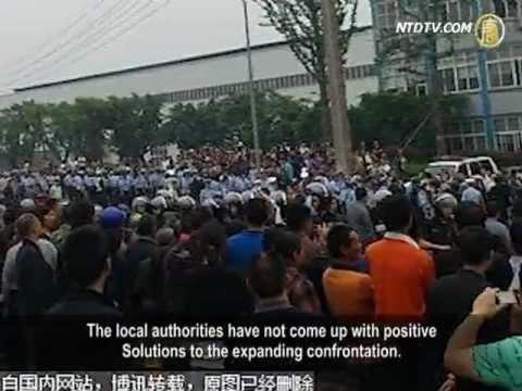Chongqing's Business Strike Keeps Expanding