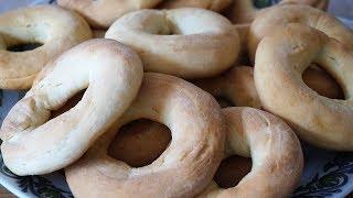 СУШКА НА СМЕТАНЕ/Sour cream bagels