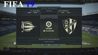 FIFA 19 - LaLiga Santander - D. Alavés vs. Sd Huesca @ Estadio de Mendizorroza