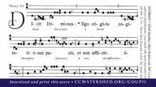 "INTROIT • 23rd Sunday after Pentecost (""Dicit Dóminus"")"