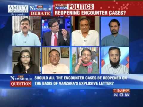 The Newshour Debate: Vanzara's Letter, Political Fodder - Part 1