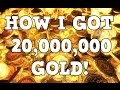How i Got 20M GOLD l ESO