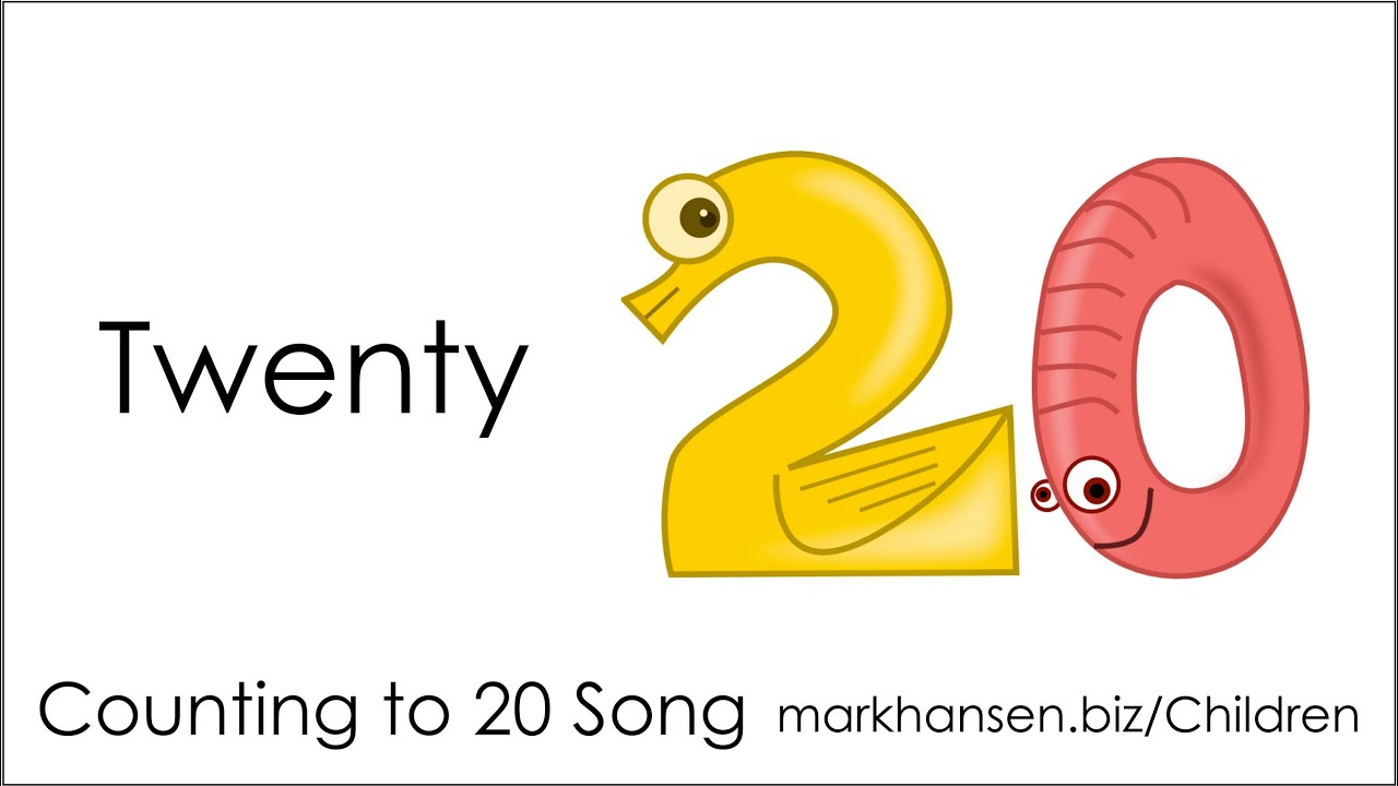 Counting Songs 1-20 for Children Numbers to Song Kids ...20