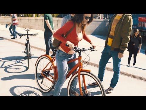 Ampler Bikes demo event in Tallinn, Estonia