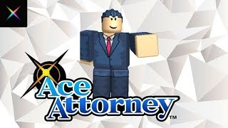 ROBLOX Ace Attorney Gameplay! t. Thanos