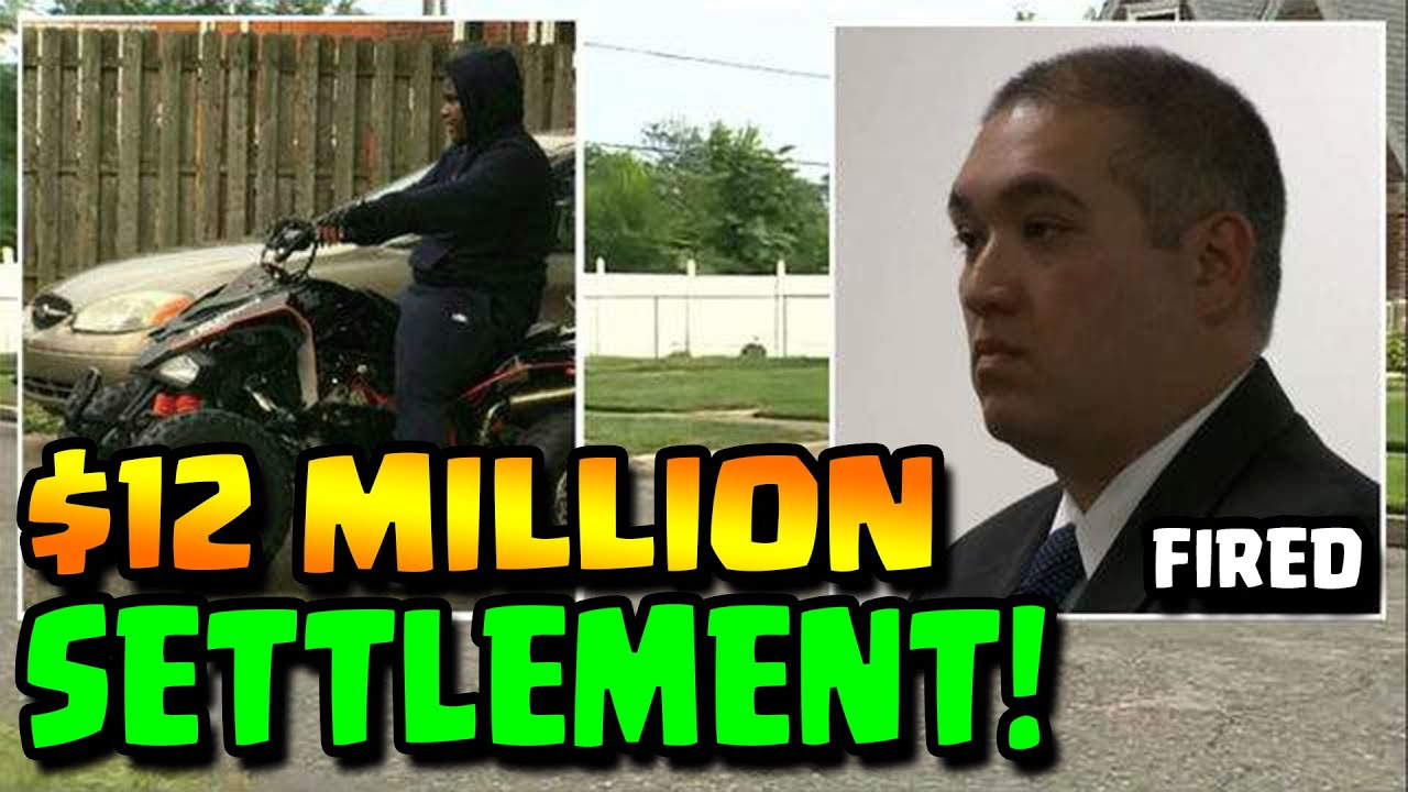COP GOES TO PRISON -- $12 MILLION SETTLEMENT