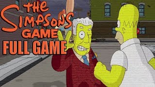The Simpsons Game Full Gameplay Walkthrough ( Full Game ) No Commentary