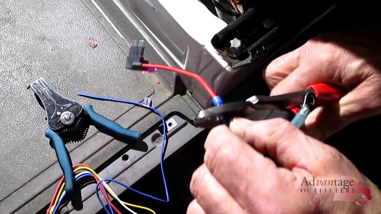 mercedes benz sprinter backup camera youtube sprinter rear camera wire diagram [ 1280 x 720 Pixel ]
