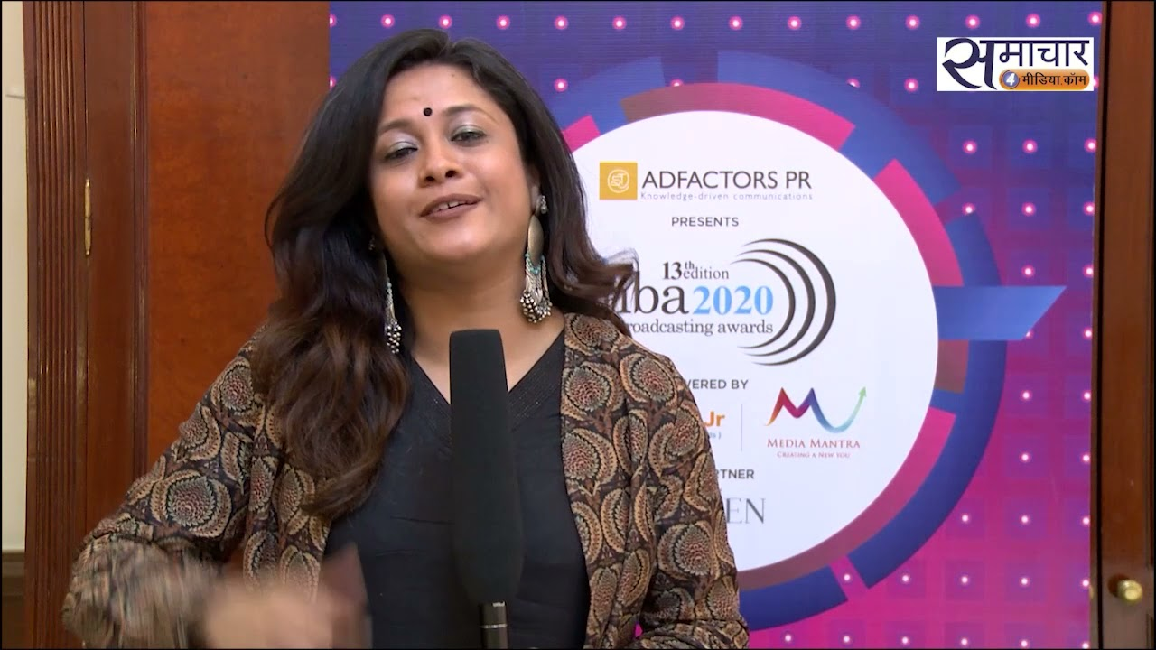 enba 2020- Winner Tanvi Shukla, Mirror Now