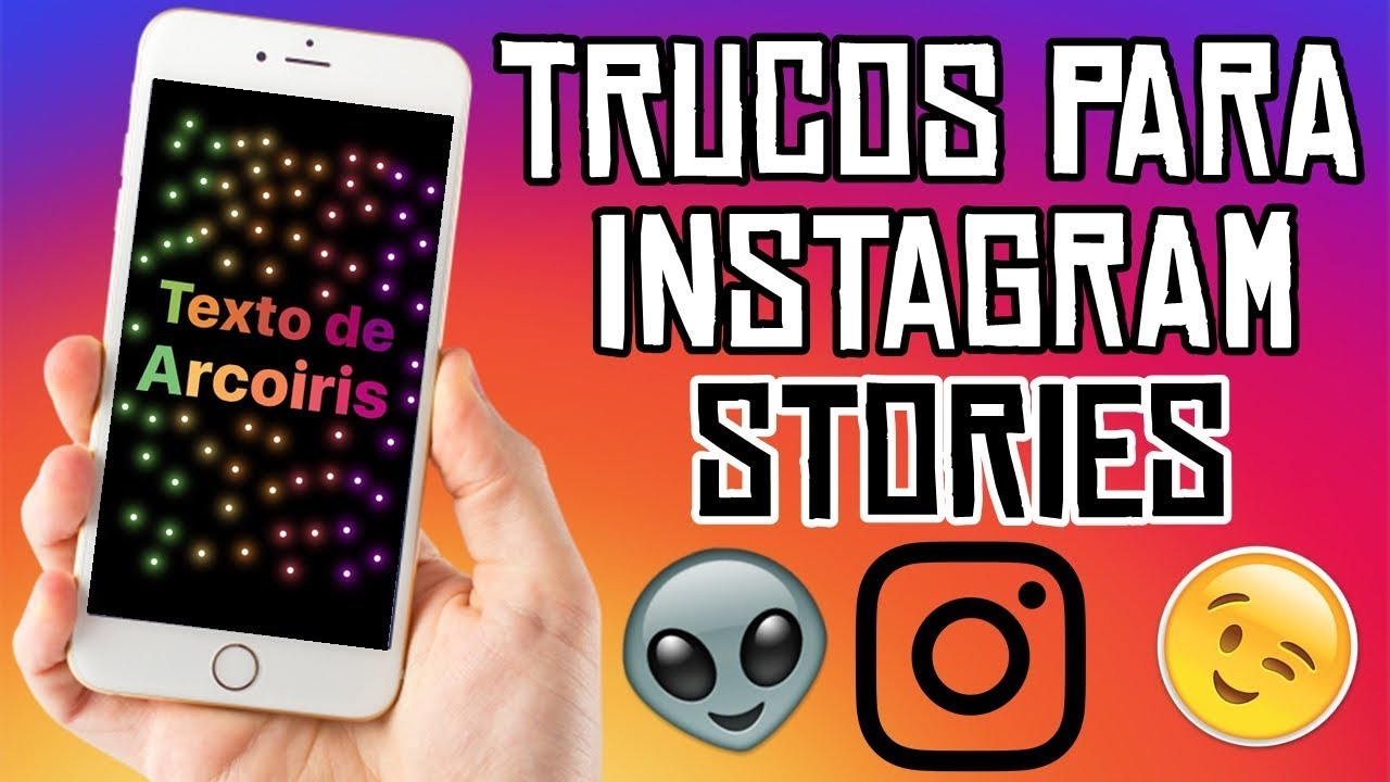 TRUCOS PARA INSTAGRAM STORIES - YouTube