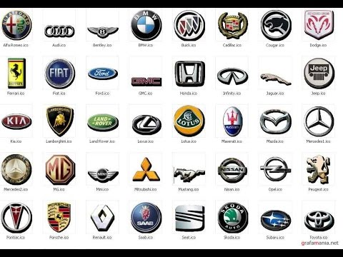 Что означают эмблемы различных автомобилей  (1 часть) (Полная Версия)