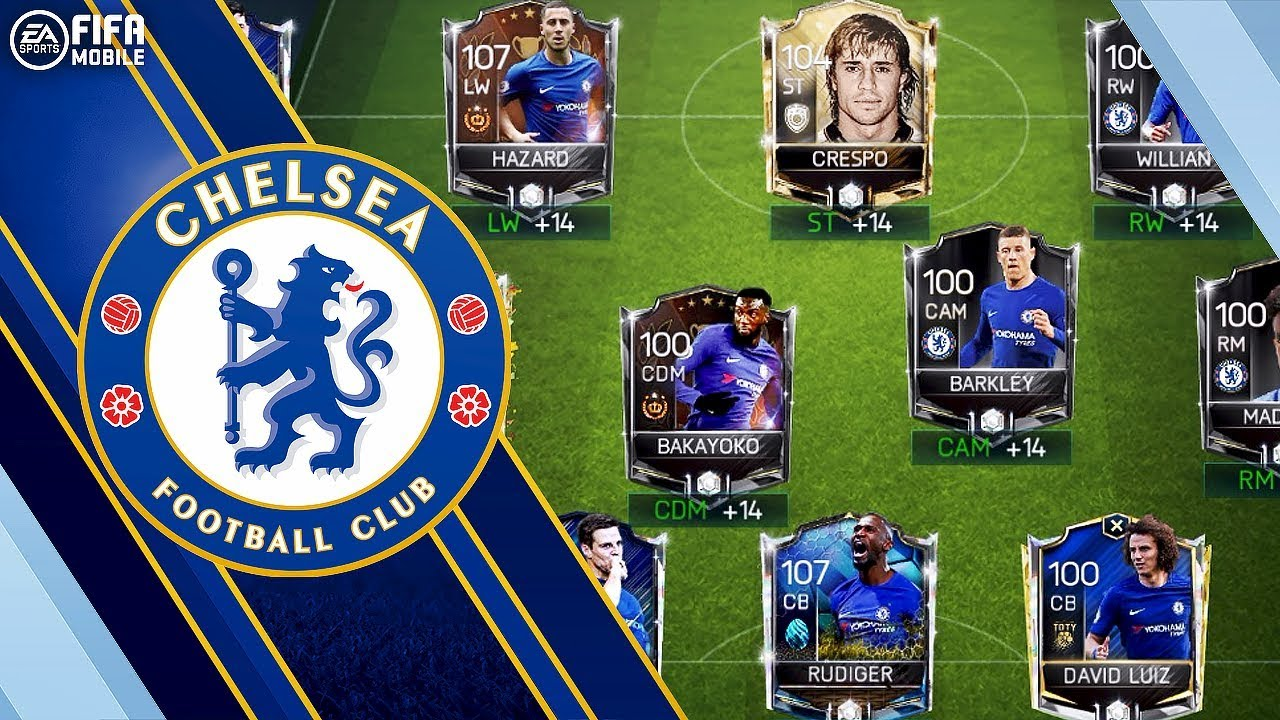 Best Possible Chelsea Squad Fifa Mobile