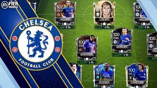 BEST POSSIBLE CHELSEA SQUAD!!! FIFA MOBILE