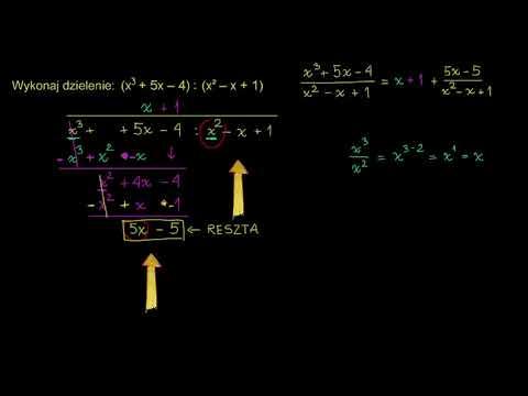 Dzielenie pisemne liczb from YouTube · Duration:  2 minutes 38 seconds