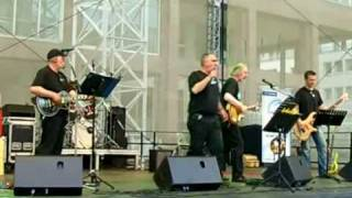 Tommy & the Blue Boys - Hey Babe (Cover), live auf dem Friedensplatz, Public Viewing WM 2010