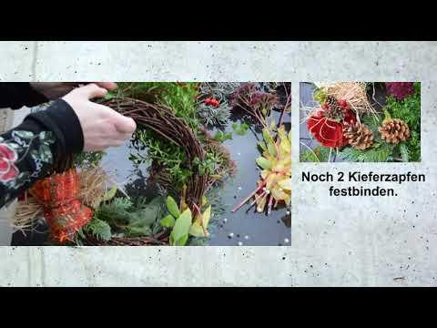 DIY - Ideen zum Nachbasteln: 2 Ideen für Grabgestecke anfertigen + Weitere als Fotos