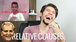 Defining and non-defining Relative Clauses - Inglês de Bolso