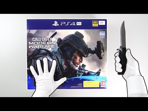 "PS4 Pro ""Modern Warfare Edition"" Console Unboxing - Playstation 4 Exclusive Survival Mode"