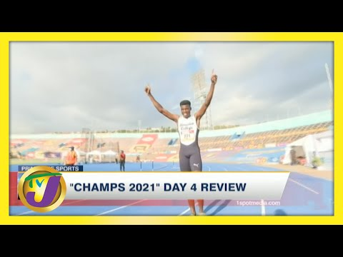 Jamaica's ISSA Boys & Girls Champs 2021 Day 4 Highlights - May 14 2021