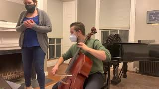 "Jessie Montgomery, ""Loisaida, My Love"" - Tyler James, Cello - Nina Kasper, Soprano"