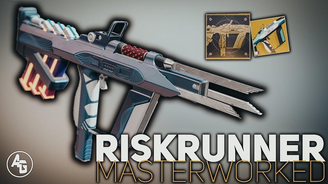 Riskrunner Masterwork Destiny 2 Exotic Catalyst Review Youtube