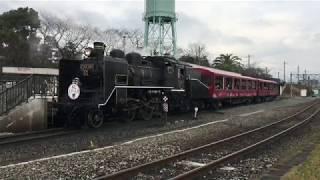 C56 160 牽引のスチーム号(京都鉄道博物館)