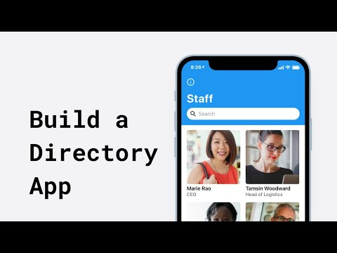 Build An Employee Directory With Glide | Glide Apps Tutorial