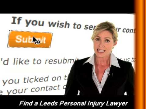 Personal Injury Lawyer Leeds - Get a quote online