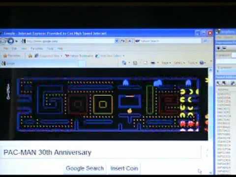 Google Pacman Hack - 256 Level Cheat