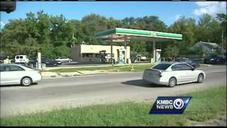 Chase starts at gas station police know well