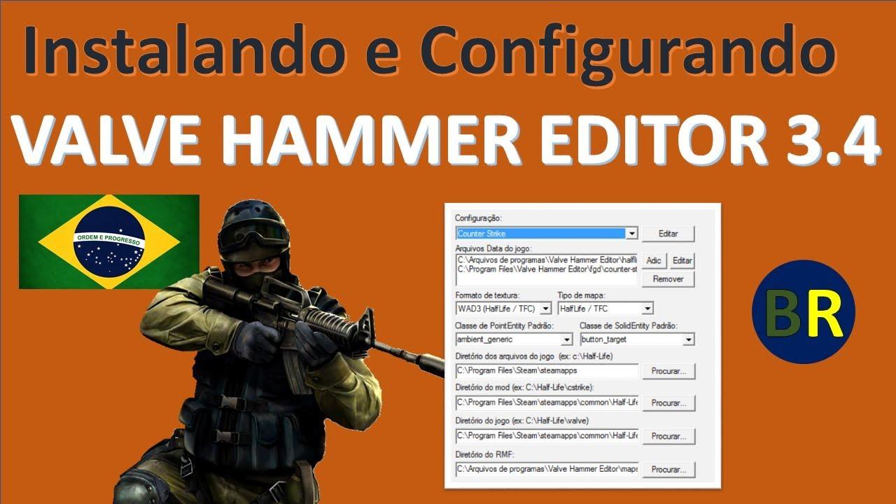 CONFIGURADO EDITOR O VALVE BAIXAR HAMMER