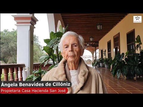 Entrevista Ángela Benavides De Cillóniz  Propietaria De Casa Hacienda San José En Chincha