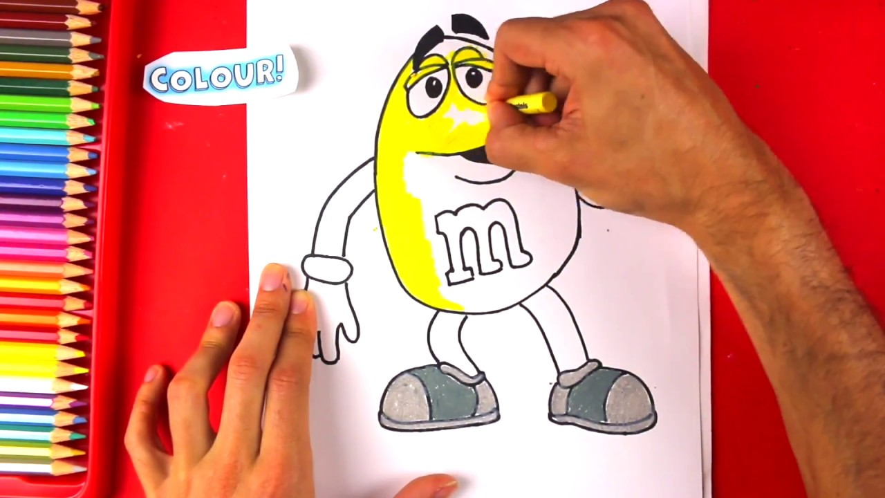 This is a photo of Gutsy M&m Drawing