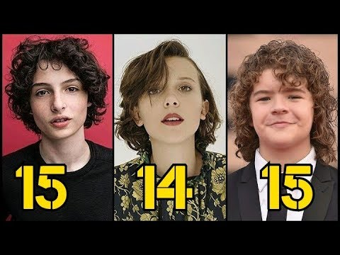 Stranger Things From Oldest to Youngest