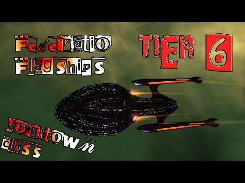 Federation Flagships, Star Cruiser,  Yorktown Class [T6] with all ship visuals - Star Trek Online