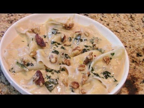 Pumpkin Ravioli Part 2 GEFU Pasta Machine Gourmet Kitchenworks.mp4 from YouTube · High Definition · Duration:  4 minutes 27 seconds  · 545 views · uploaded on 4-12-2012 · uploaded by Gourmet Kitchenworks