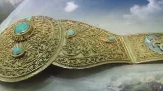 Красота Осетинской Невесты в сочетании с красотой  природы Кавказа