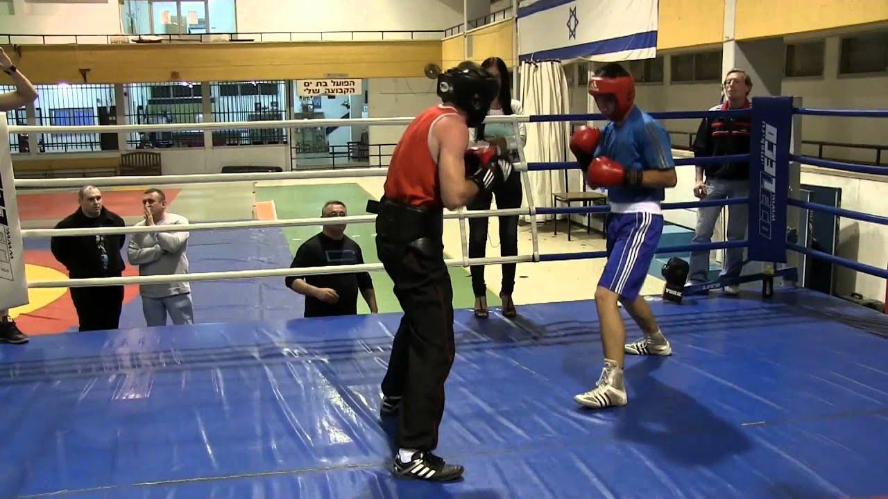 Бокс с участием клочко в