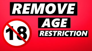How to Remove Aġe Restrictions on Youtube on Phone (2021)