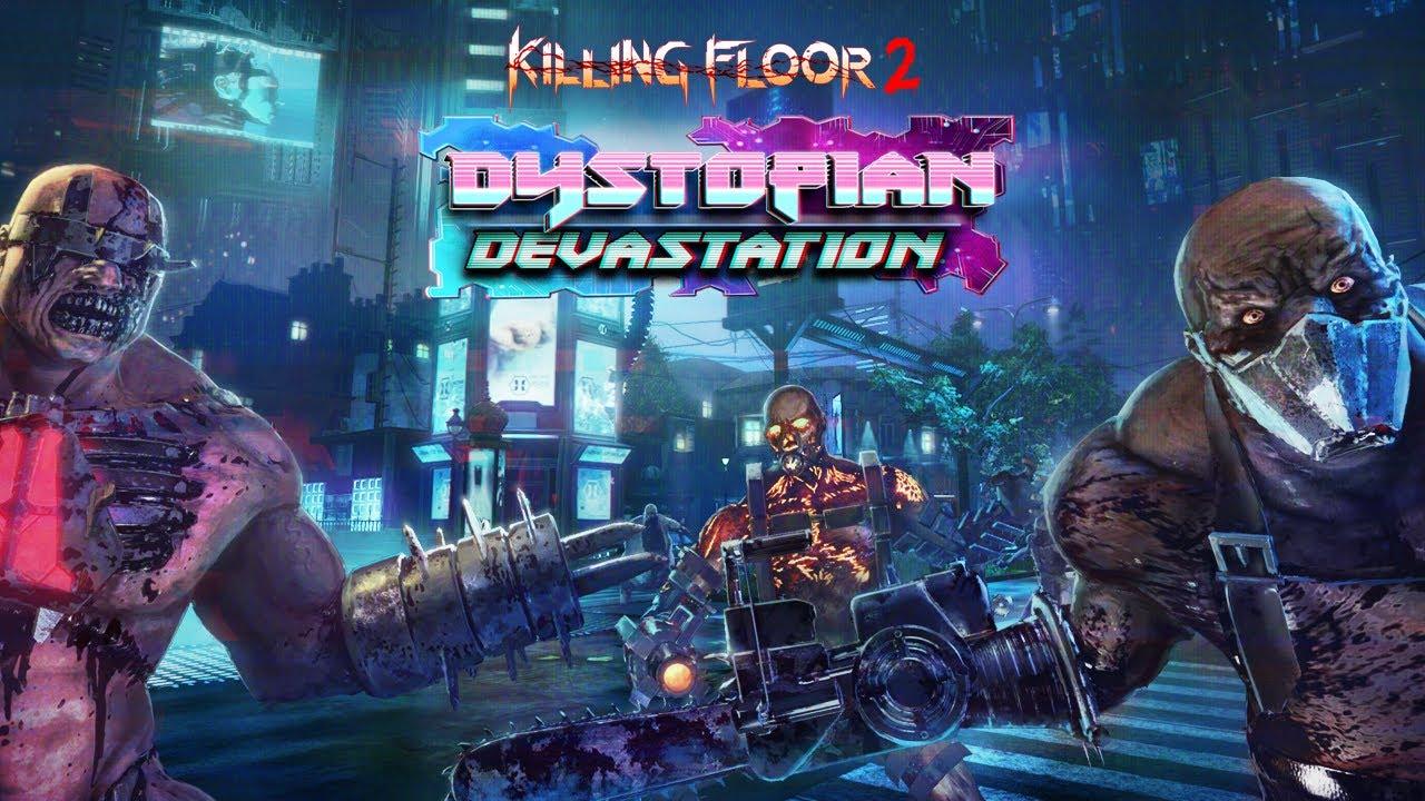 Kf2 Christmas 2021 End Killing Floor 2 Dystopian Devastation Update Brings Dystopia 2029 Map New Weapons Shacknews