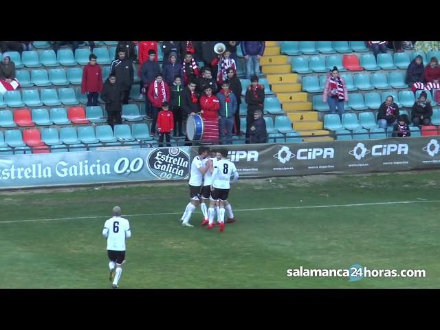 Resumen CF Salmantino UDS 2-0 Zamora CF