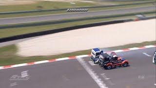 FIA European Truck Racing Championship 2018. Race 1 Automotodróm Slovakia Ring. Final Lap