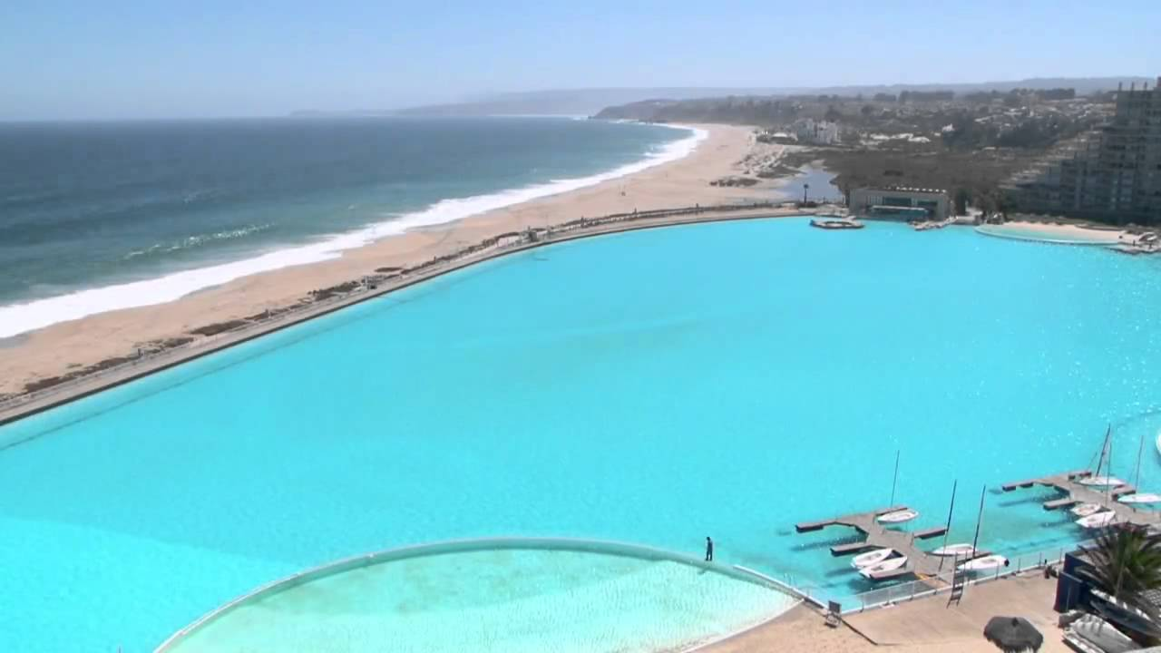 A maior piscina do mundo youtube for Ver piscinas grandes