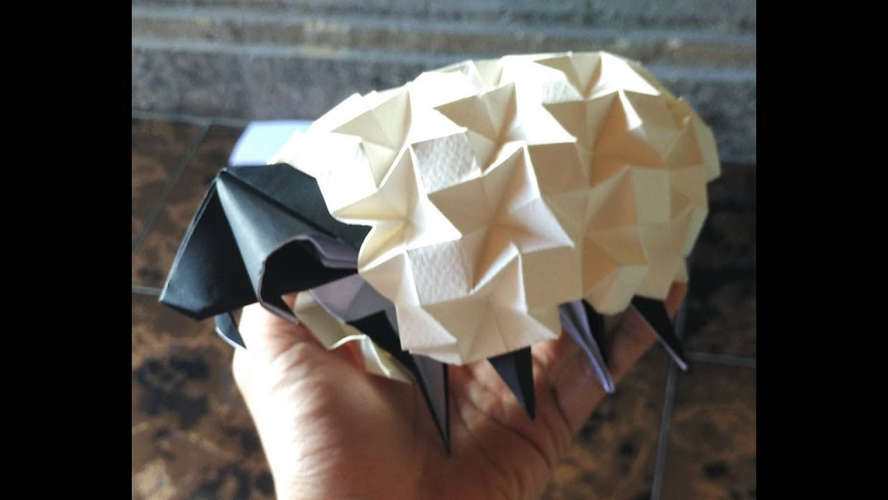 Origami Sheep Beth Johnson