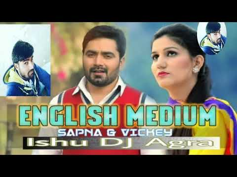 English Medium (Sapna Choudhary) High Quality Audio FLP Project DJ Dholki Remix By - Ishu DJ Agra