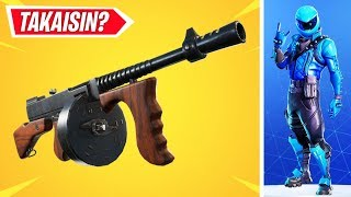 "WILL THE DRUM GUN RECOVER? -New rarest Skini! -""Fortnite News"""